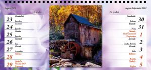Stolový fotokalendár A5, DL alebo XDL od 6,70 €!